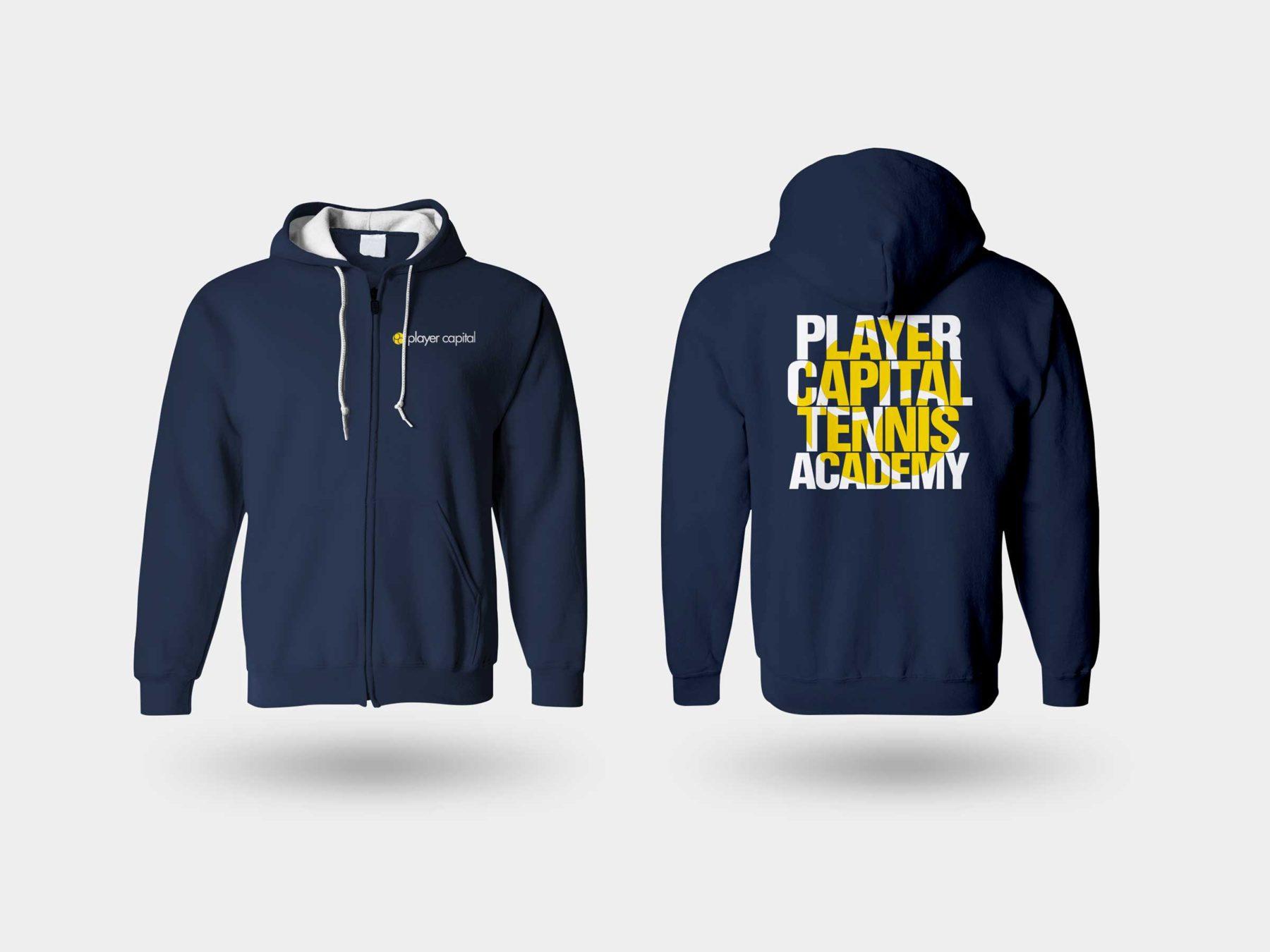 Player Capital Tennis Sweatshirt Design