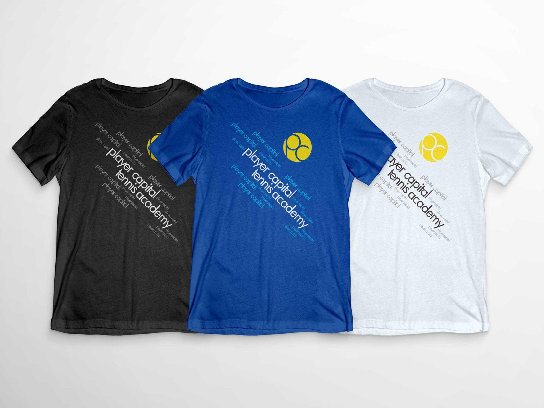 Player Capital Tennis Shirt Design