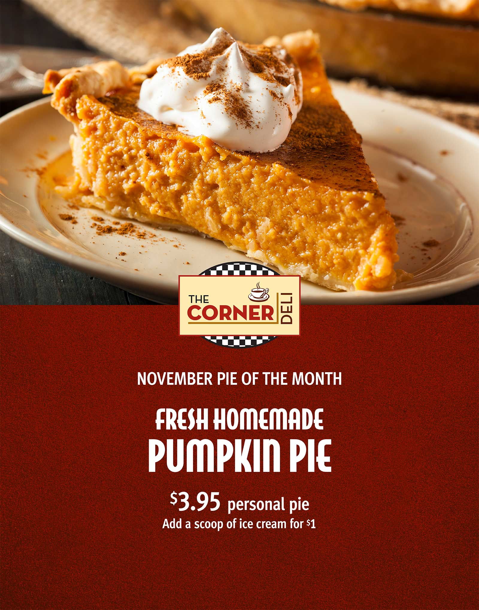 Pie of the Month Poster 3/4