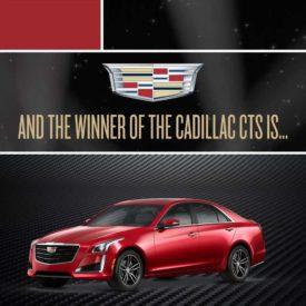 Cadillac CTS Giveaway