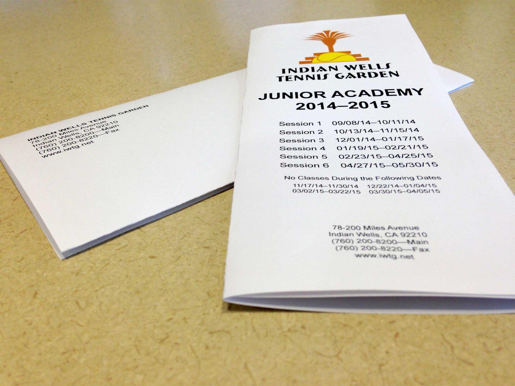 Brochure Folded