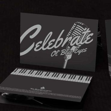 Sinatra Estate VIP Event Invitation