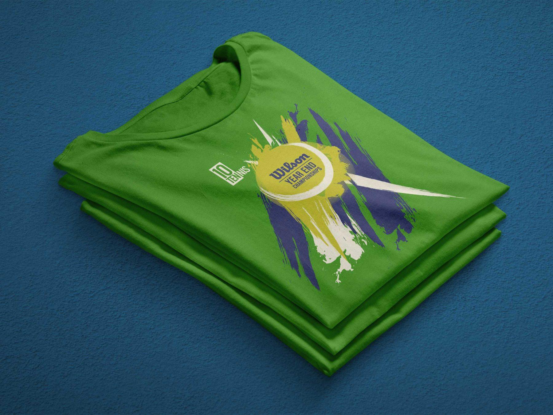 10Tennis Shirt Design