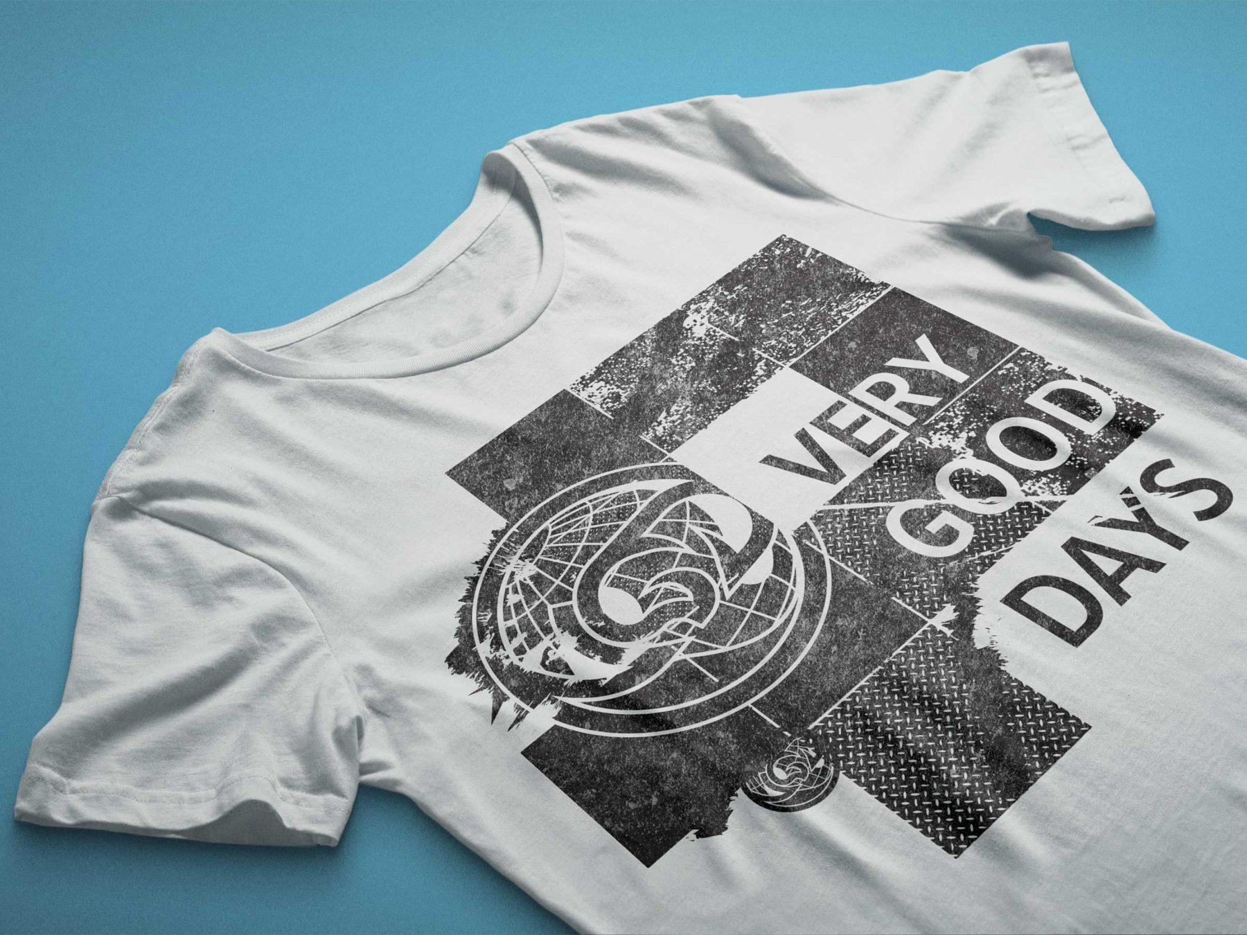 Very Good Days Shirt Design