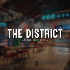 The District – Digital Menu Boards